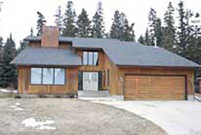 exterior of brown house in red deer alberta home renovation