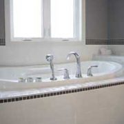 interior white bath and window renovation red deer