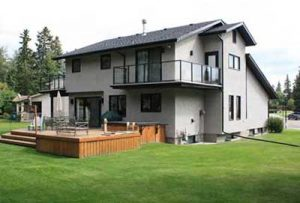 exterior new custom homes builder renovation red deer
