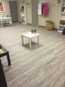 yoga studio stettler commercial renovation