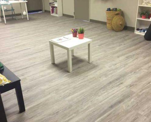 interior yoga studio commercial renovation stettler alberta commercial renovations