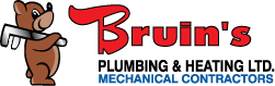 bruins plumbing mechanical red deer renovation company partners logo