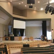 church auditorium commercial enovation