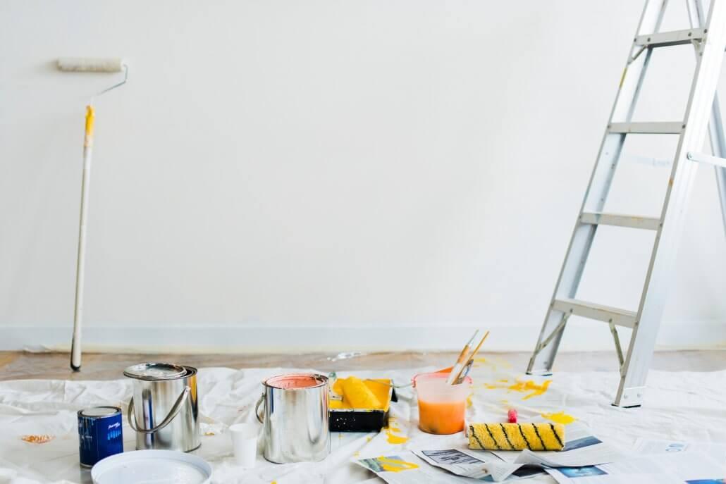 home renovation project materials